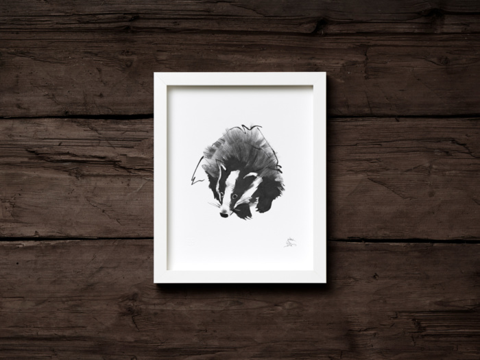 badger framed wall art