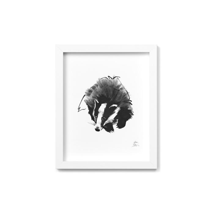 badger fine art print