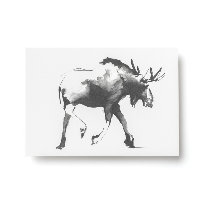 elk post card art by teemu järvi