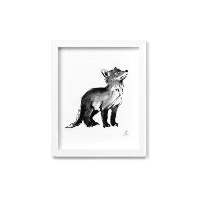 Fox Cub fine art print