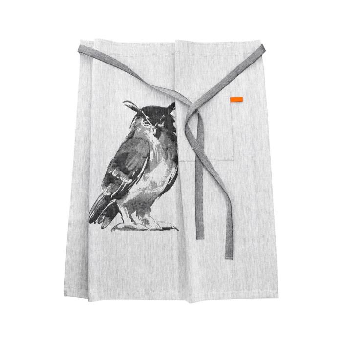 Woven Owl apron