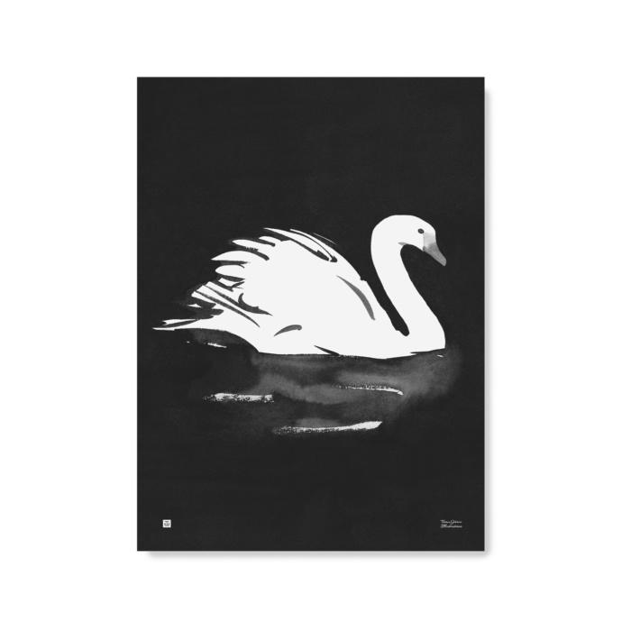 Swan wall art