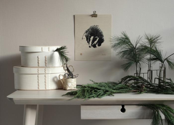 badger plywood art print by teemu jarvi