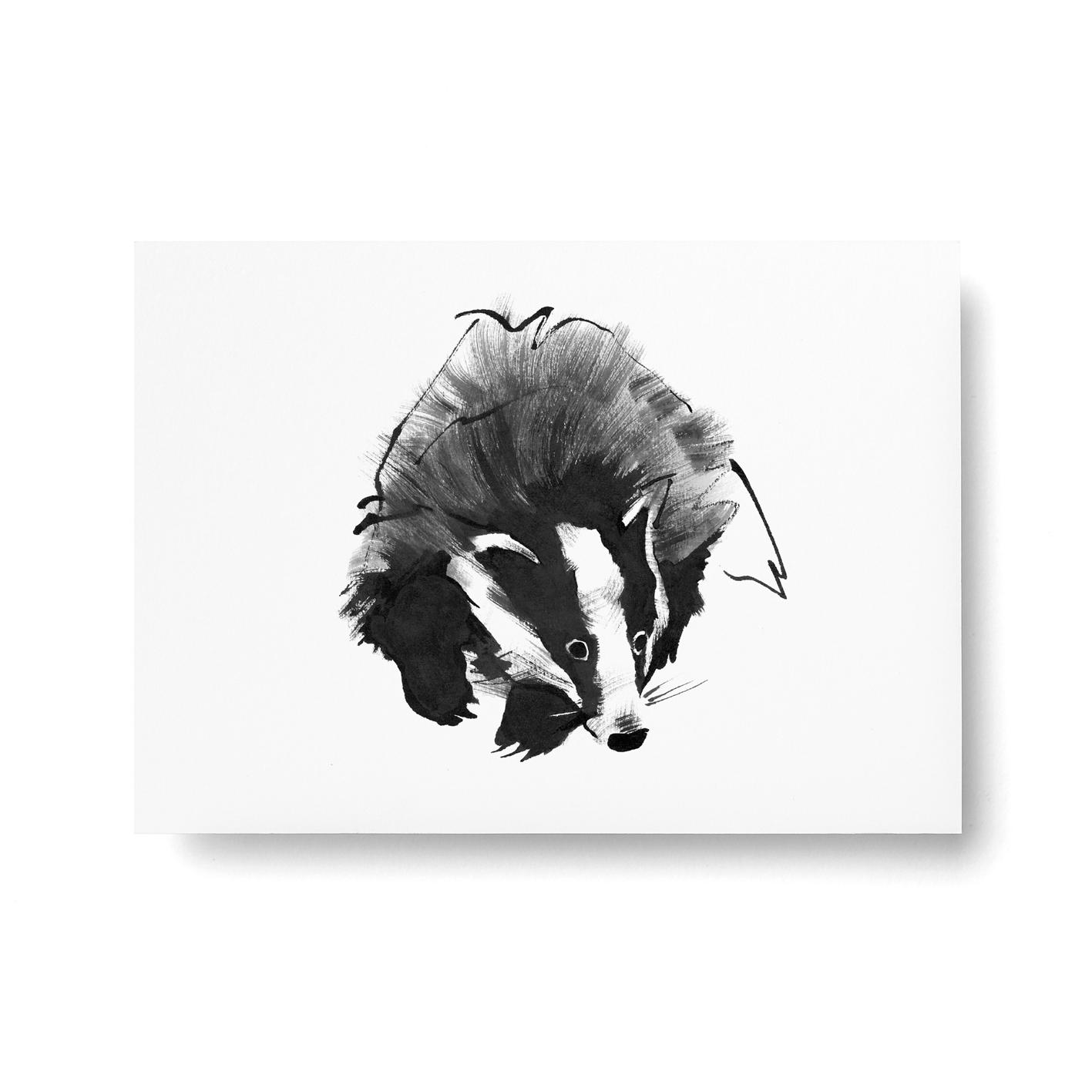 Mäyrä-postikortti