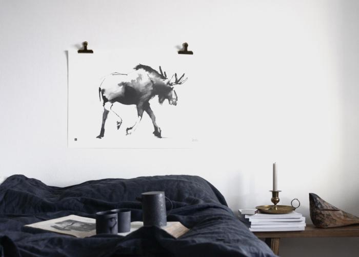 elk wall art by teemu jarvi