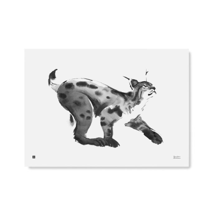 Lynx wall art