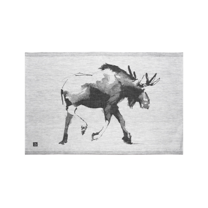 Elk tea towel