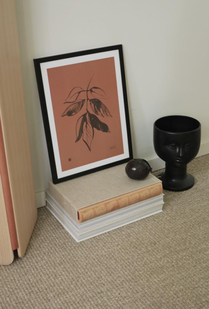 Autumn colored Ash art print