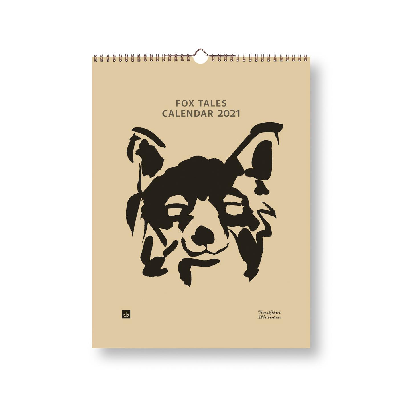Fox Tales -kalenteri