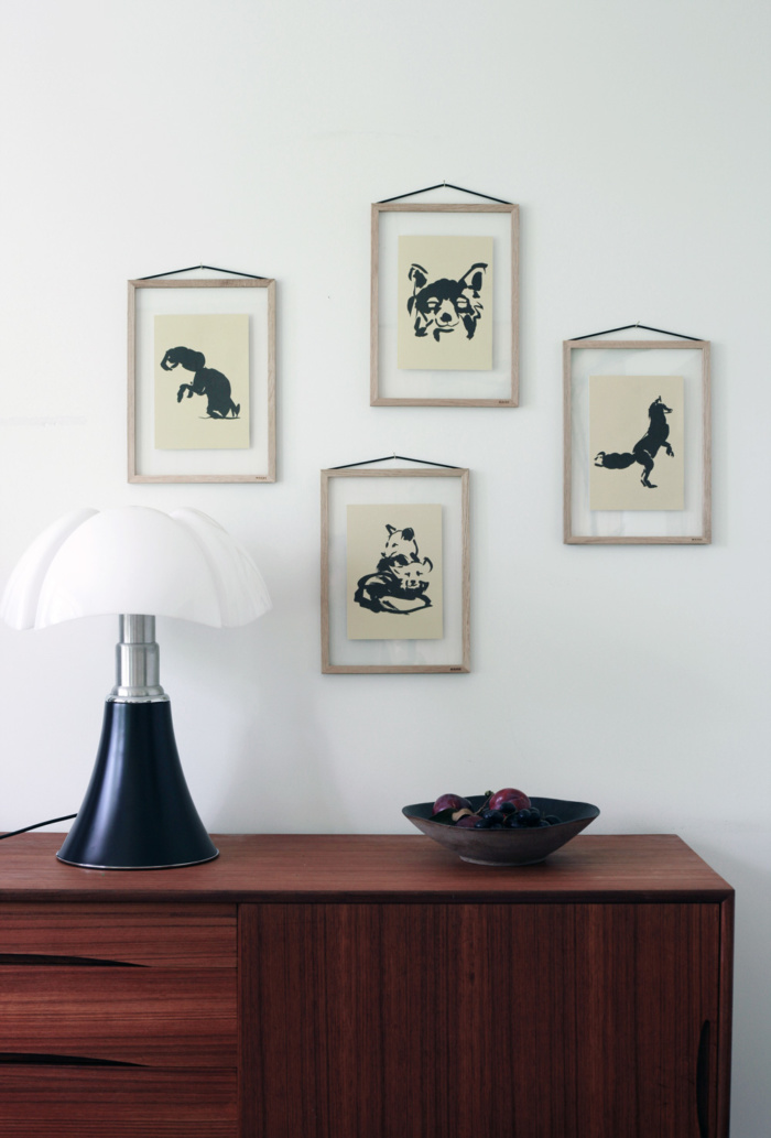 Set of Fox Tales art prints