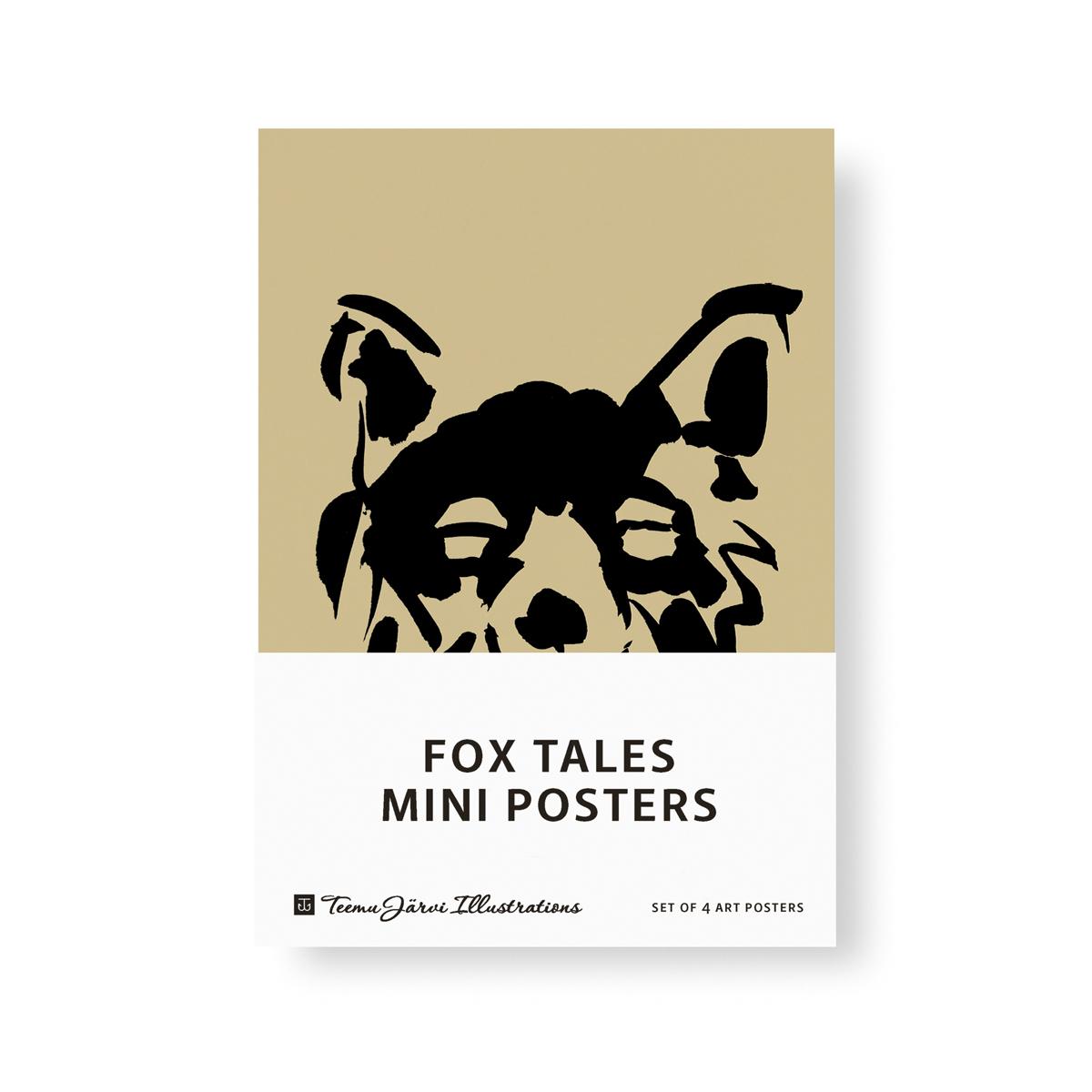 Fox Tales -minijulistesetti